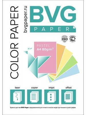 Цветная Бумага BVG 100 Пастель.Голубая ИД ЛИТЕРА. Цвет: голубой