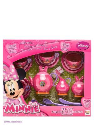 Набор посуды Minnie, TM Disney IMC toys. Цвет: фуксия