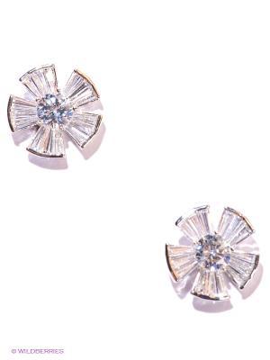 Серьги Royal Diamond. Цвет: серебристый