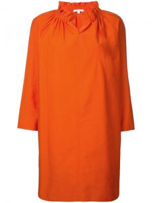 Блузка с принтом Atlantique Ascoli. Цвет: жёлтый и оранжевый