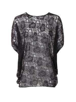Блузка UONA. Цвет: черный
