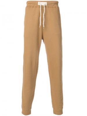 Классические спортивные брюки Bellerose. Цвет: коричневый