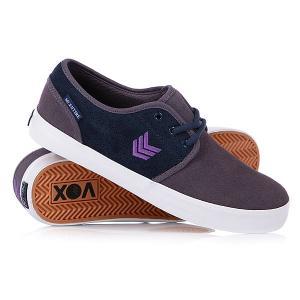 Кеды кроссовки низкие Vox Slacker Blue/Cody. Цвет: синий,фиолетовый