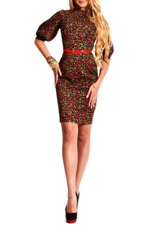 Платье FRANCESCA LUCINI. Цвет: вишенка