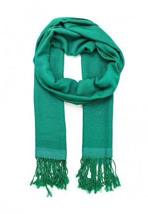 Палантин Fete. Цвет: зеленый