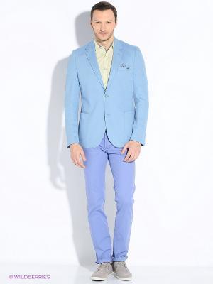 Пиджак U.S. Polo Assn.. Цвет: голубой