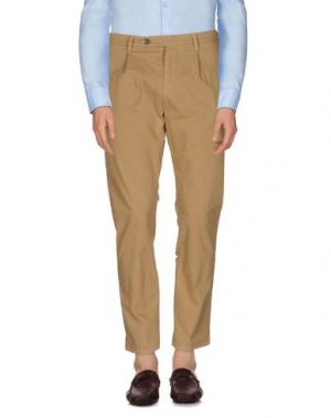Повседневные брюки BRIAN DALES. Цвет: верблюжий