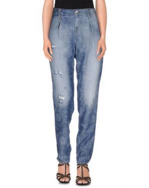 Джинсовые брюки IMPERIAL. Цвет: синий
