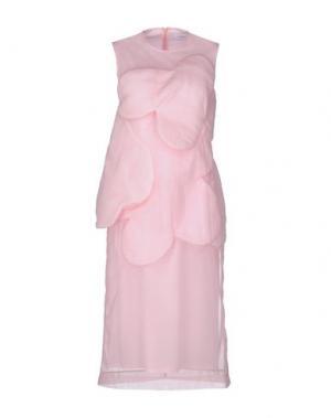 Платье до колена SIMONE ROCHA. Цвет: розовый