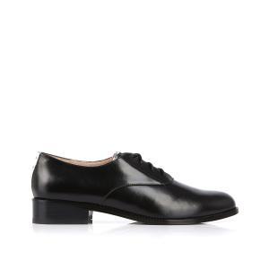 Ботинки-дерби кожаные Cea MELLOW YELLOW. Цвет: черный