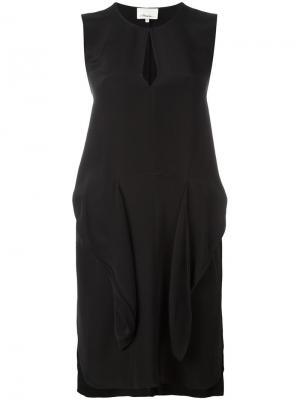Платье на завязках 3.1 Phillip Lim. Цвет: чёрный