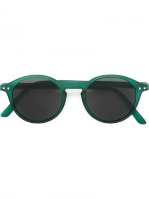 Солнцезащитные очки See Concept. Цвет: зелёный