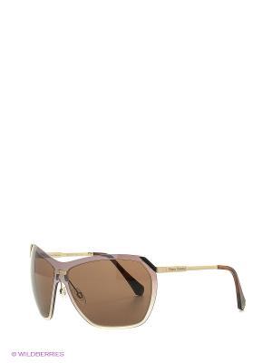 Солнцезащитные очки VW 778 06 Vivienne Westwood. Цвет: коричневый, золотистый
