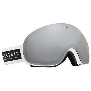 Маска для сноуборда  EG3 Gloss White Bronze/Silver Chrome Electric. Цвет: белый