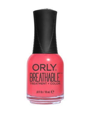 Профессиональный дышащий уход(цвет) за ногтями 919 NAIL SUPERFOOD ORLY. Цвет: коралловый
