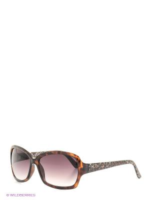 Солнцезащитные очки TOUCH. Цвет: коричневый
