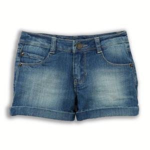 Шорты джинсовые, 3-12 лет R essentiel. Цвет: синий потертый,темно-синий