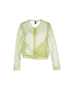 Куртка JIJIL. Цвет: кислотно-зеленый