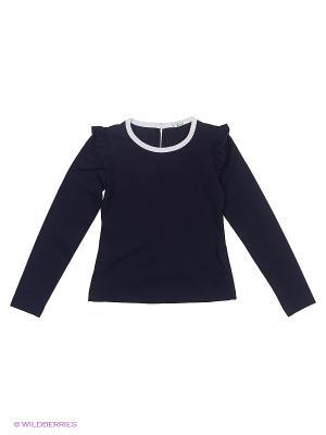 Блузка LIK. Цвет: темно-синий