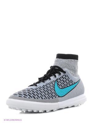 Шиповки MAGISTAX PROXIMO TF Nike. Цвет: серый