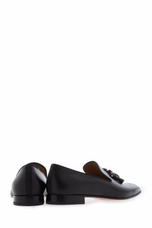 Туфли Dandelion tassel flat calf p/gg Christian Louboutin. Цвет: черный