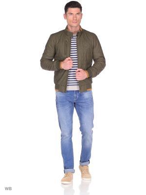 Куртка MONDIAL. Цвет: зеленый