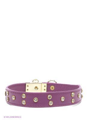 Ошейник Doggy Style. Цвет: фиолетовый