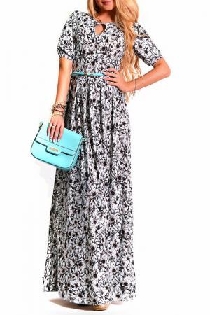 Платье LASKANY collezioni. Цвет: мятный