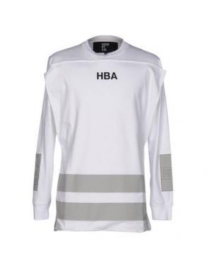 Футболка HBA HOOD BY AIR. Цвет: белый
