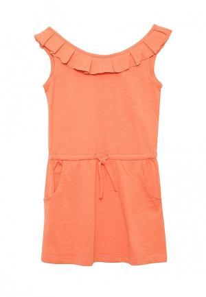 Платье Sela. Цвет: оранжевый