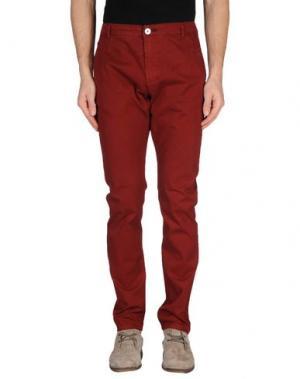 Повседневные брюки ELVINE. Цвет: красно-коричневый