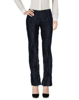Повседневные брюки MARTINA SPETLOVA. Цвет: стальной серый