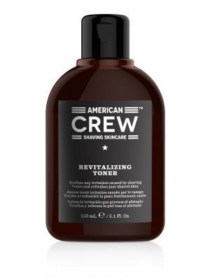 Восстанавливающий лосьон после бритья Revitalizing Toner CREW SHAVING SKINCARE 150 мл American. Цвет: коричневый