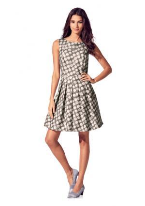 Платье Rick Cardona. Цвет: серый/экрю