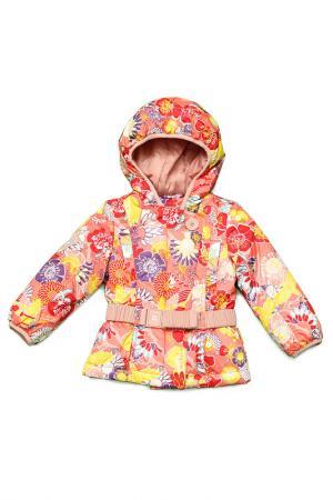 Куртка Nels. Цвет: оранжевый