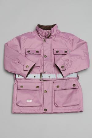 Куртка Trasluz. Цвет: розовый