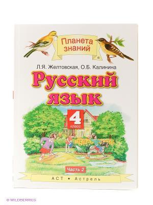 Русский язык. 4 класс. В 2 частях. Часть 2. Издательство АСТ. Цвет: белый