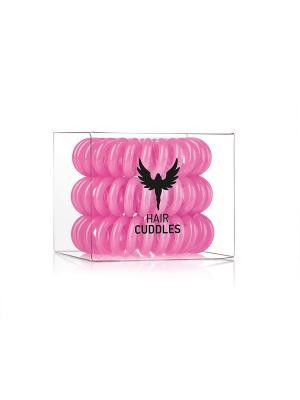 Резинка для волос Hair Cuddles HH Simonsen розовая (3 шт.). Цвет: розовый