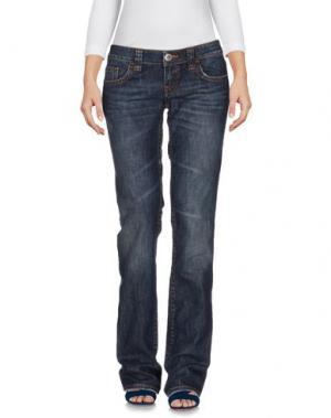Джинсовые брюки JEAN'S PAUL GAULTIER. Цвет: синий