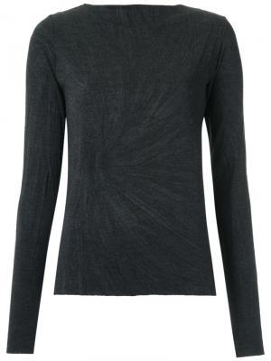 Long sleeves T-shirt Uma   Raquel Davidowicz. Цвет: серый