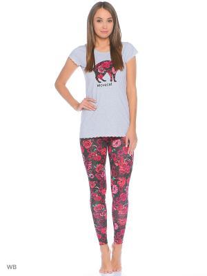 Пижама Infinity Lingerie. Цвет: белый, розовый