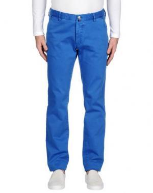 Джинсовые брюки BERWICH. Цвет: лазурный