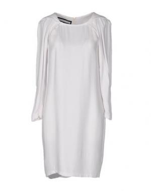 Короткое платье AQUILANO-RIMONDI. Цвет: слоновая кость