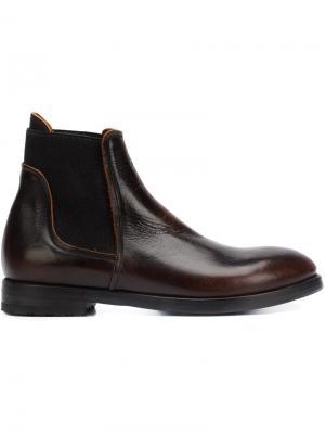 Классические ботинки Челси Alberto Fasciani. Цвет: коричневый