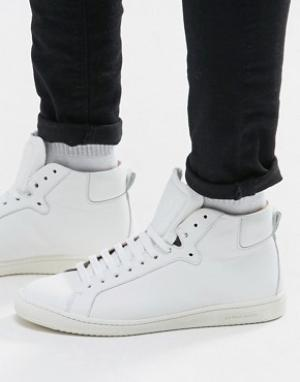 Paul Smith Высокие кроссовки Kim. Цвет: белый