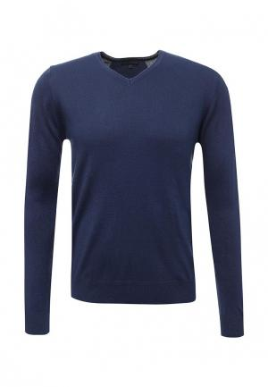 Пуловер J. Hart & Bros. Цвет: синий