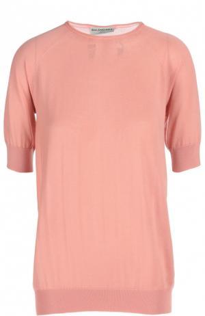 Пуловер Balenciaga. Цвет: розовый