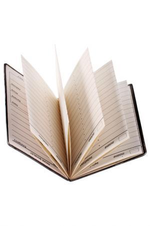 Записная книжка Silver Dreams. Цвет: белый