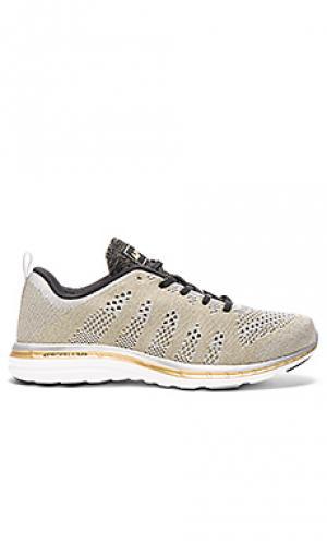 Кроссовки techloom pro Athletic Propulsion Labs: APL. Цвет: металлический золотой