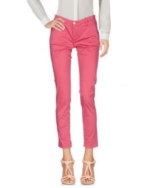 Повседневные брюки NO LAB. Цвет: пурпурный
